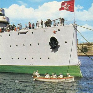 """Будни крейсера. Крейсер """"Аврора"""", 1977 год"""