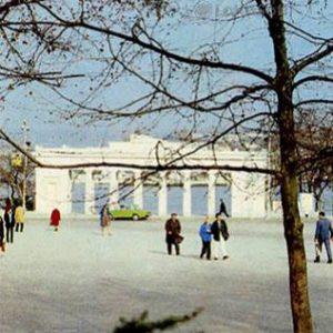 Вид на Графскую пристань. Севастополь, 1985 год