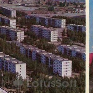 Bright village. Zeya HPP, 1978