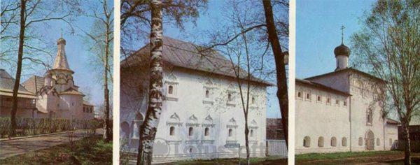 Архитектурный компекс Спасо-Евфимовского монастыря. Суздаль, 1978 год