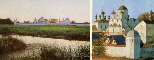 Покровский монастырь. Суздаль, 1978 год