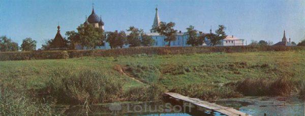 Панорама кремля. Суздаль, 1978 год