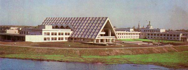 Главный туристический комплекс. Суздаль, 1978 год