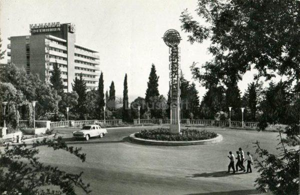 """Camellia"" hotel. Sochi, 1971"