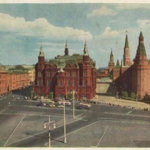 Государственный исторческий музей. Москва, 1956 год