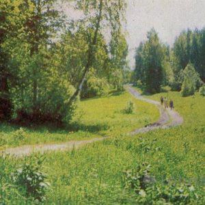 """Открытка """"Подмосковье"""", 1963 год"""