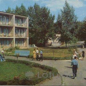 "Курорт ""Миргород"". Спальный корпус. Миргород, 1972 год"
