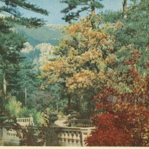 Crimean autumn. Crimea, 1964