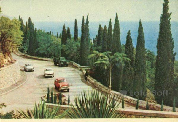 Дорога в Крыму, 1964 год
