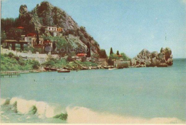 Генуэзская скала. Гурзуф. Крым, 1964 год