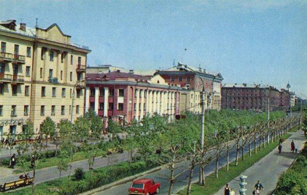 Проспект имени В.И. Ленина. Ярославль, 1973 год