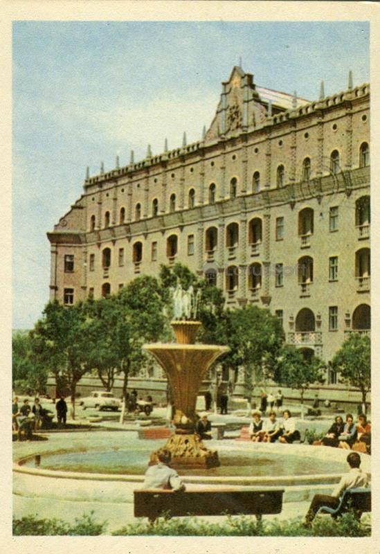 "Гостиница ""Октябрь"". Луганск, 1968 год"