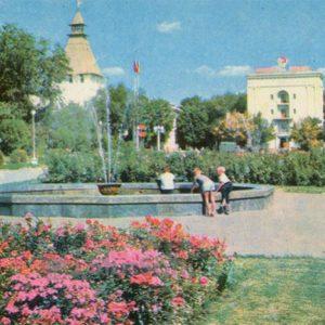 Area Lenin. Astrakhan, 1970