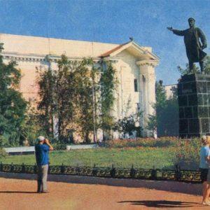 Паямтник С.М. Кирову. Астрахань, 1930 год