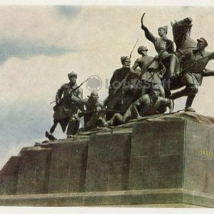VI monument Chapayev. Kuibyshev, 1964