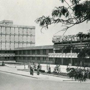 House of Political Education. Ashgabat, 1979