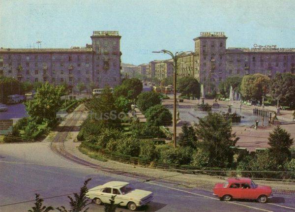 The area named SS Sandaryana. Yerevan, 1983