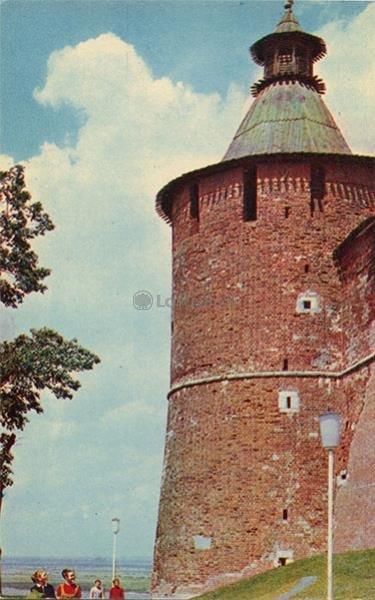 Taynitskaya tower. Kremlin. Nizhny Novgorod, Gorky), 1970