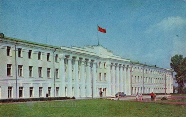 The building of the regional executive committee. Nizhny Novgorod, Gorky), 1970