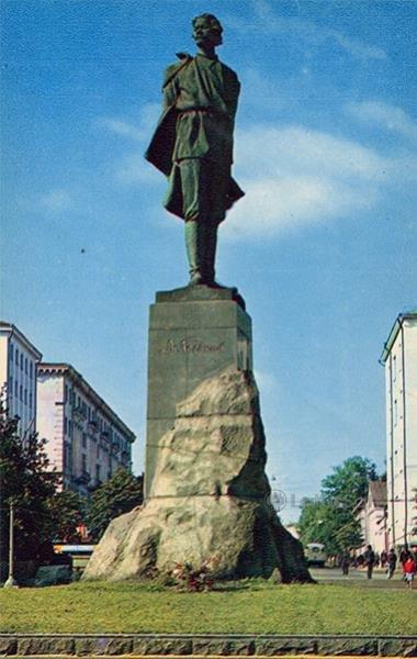 AM monument Gorky. Nizhny Novgorod, Gorky), 1970