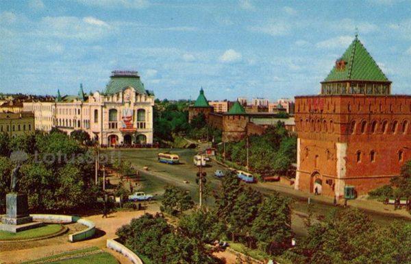 Minin and Pozharsky Square. Nizhny Novgorod, Gorky), 1970