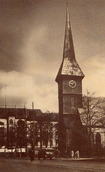 Штайндамская кирха. Клининград, Кёнигсберг), 1990 год
