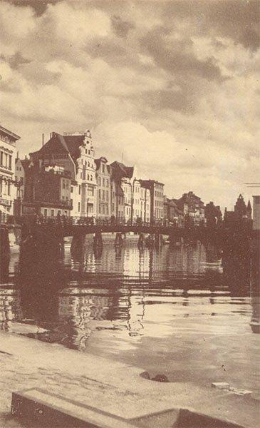 Зеленый мост. Клининград, Кёнигсберг), 1990 год