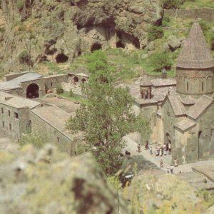 Cave Monastery. Gegard. Armenia, 1981