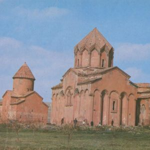 Monstyr Marmashen. Akhuryan district. Armenia, 1981