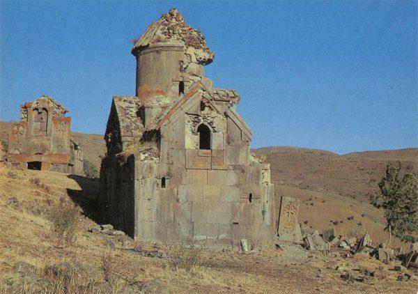 Monastery Tsahatskar. Yeghegnadzor region. Armenia, 1985