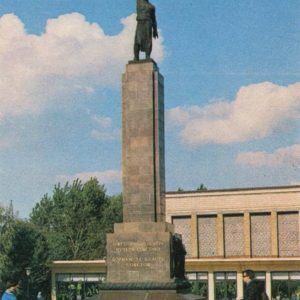 Monument to fighters for Soviet power. Chisinau (1974)