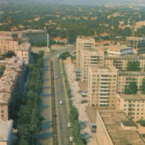 Бульвар Негруцци. Кишинев (1974 год)