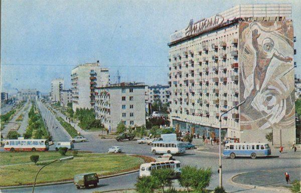 Проспект им.Н.Абдирова. Каранада, 1972 год