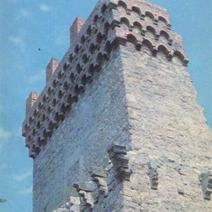 Genoese fortress. Tower of Constantine. Theodosius, 1981