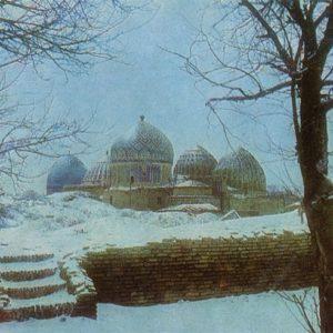 Ансамбль Шахи-Зинда. Самарканд, 1982 год