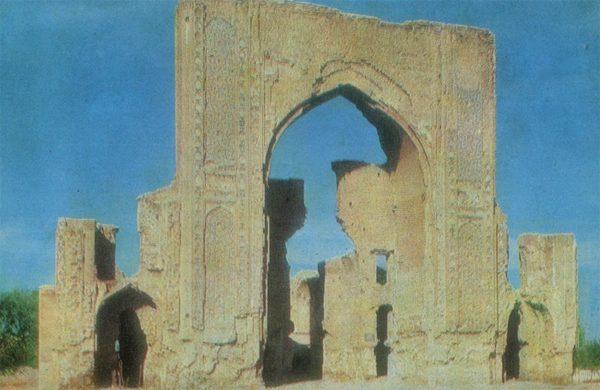 Ишрат-хана. Самарканд, 1982 год