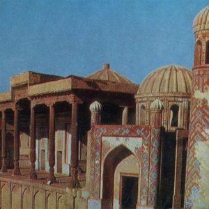 Mosque Hazrat-Hyzr. Samarkand, 1982