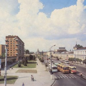 Sovetskaya Street. Tula, 1987