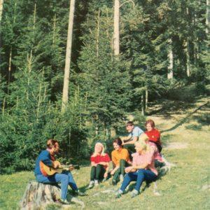 Туристская песня, 1970 год