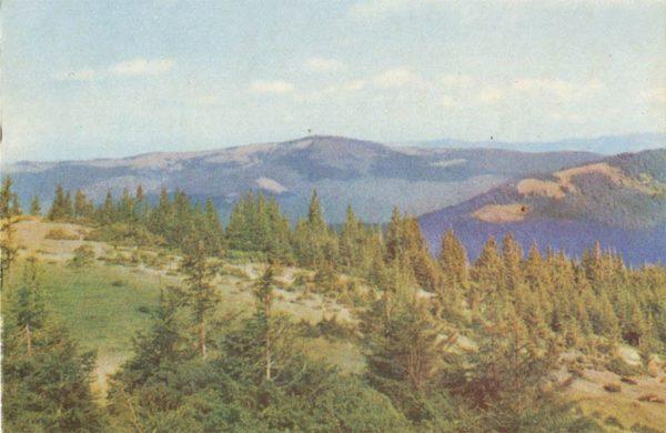 Горный пейзаж, 1970 год