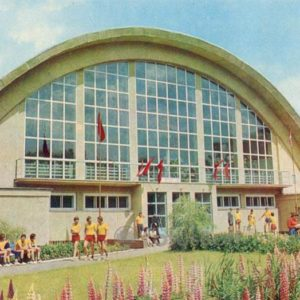 Athletics arena. Ivano-Frankivsk, 1978