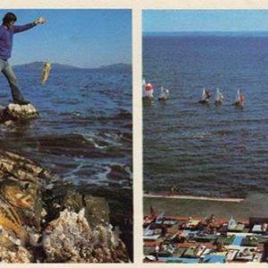 In the Amur Bay. Vladivostok, 1981
