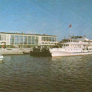 Казанский речной порт. Казань, 1977 год