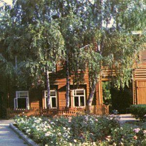 Дом-музей В.И. Ленина на улице Ульяновых. Казань, 1977 год