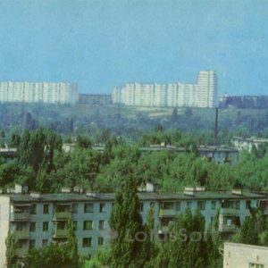 The new area of ??the city. Kremenchuk, 1983