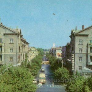 Lenin street. Kremenchuk, 1983