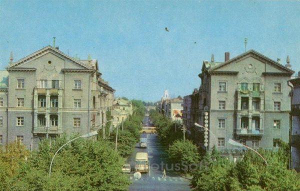 Улица Ленина. Кременчук, 1983 год