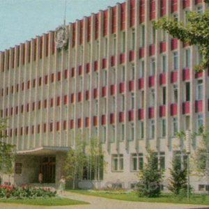 Administrative building on the street Niktinskoy. Voronezh, 1973