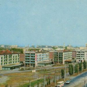 Leninsky Prospekt. Voronezh, 1973