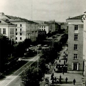 Lenin Avenue. Petrozavodsk, 1984